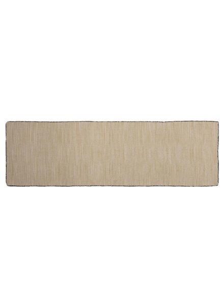 HomArt Tarabuco Cotton Runner, 2.5x8  Moon