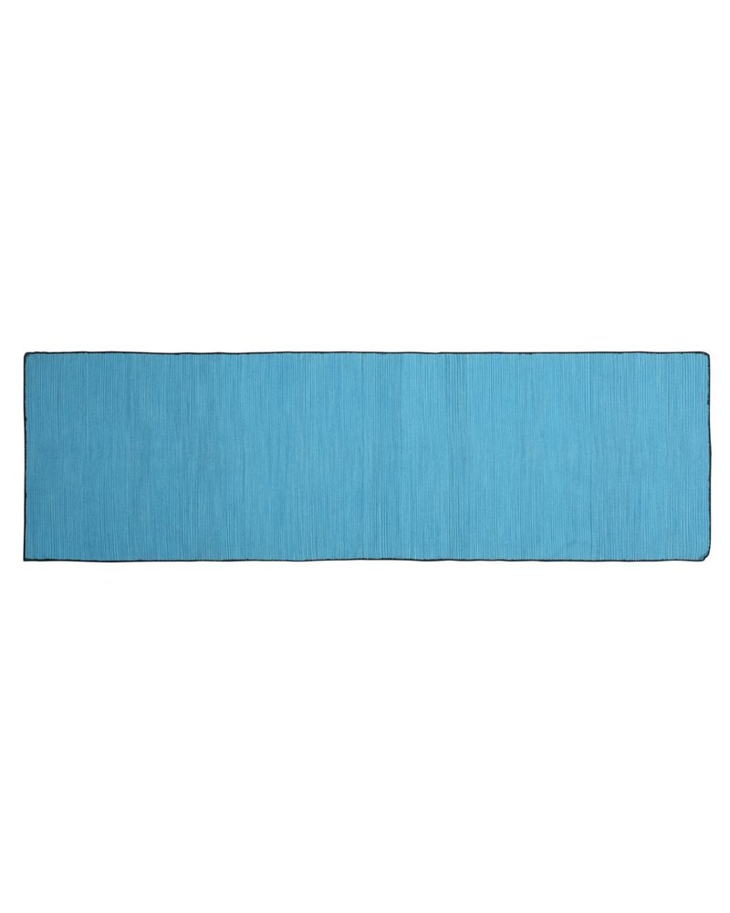 HomArt Tarabuco Cotton Runner, 2.5x8  Lake