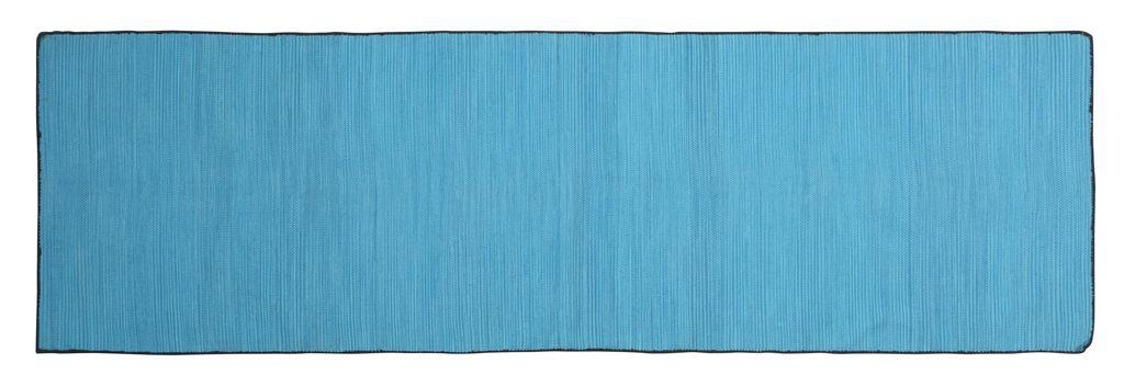 HomArt Tarabuco Cotton Runner, 2.5x8  Lake
