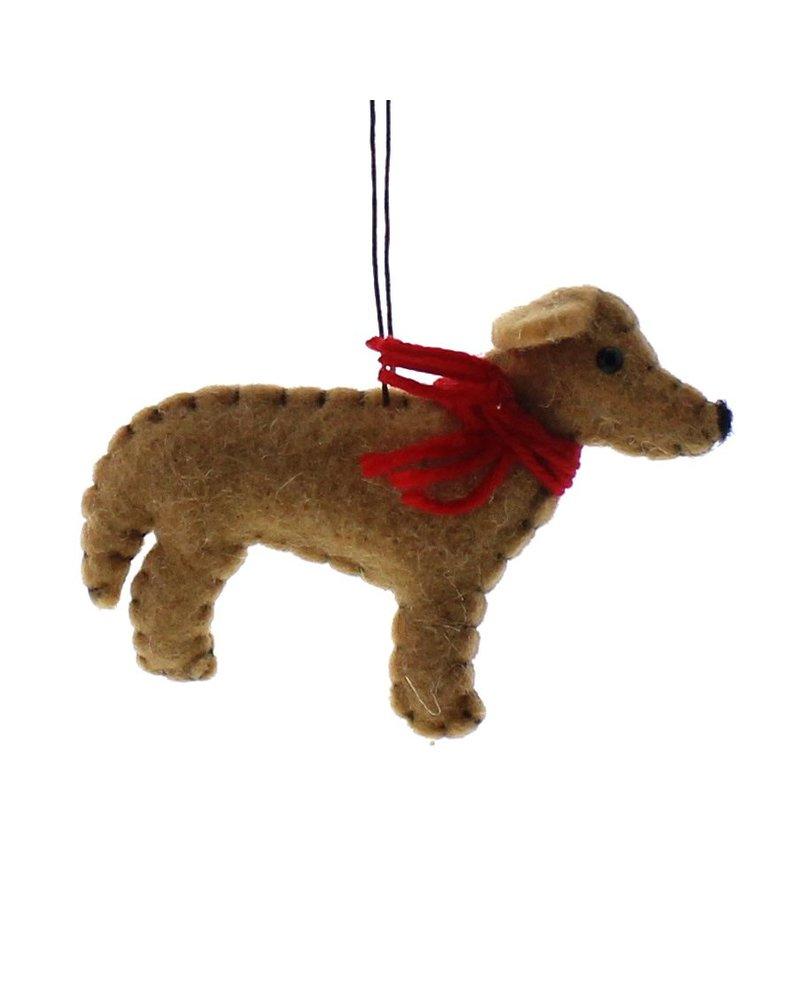 HomArt Felt Dog Ornament - Retriever