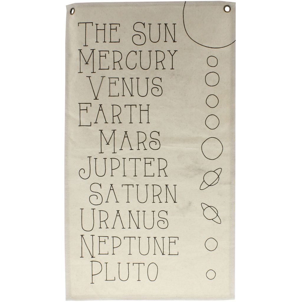 HomArt Canvas Banner - Planets