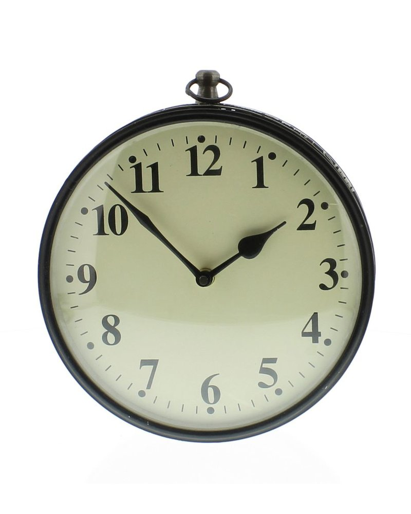 HomArt Reclaimed Metal Clock