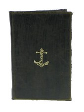 HomArt Maritime Embossed Journal - Anchor - Black