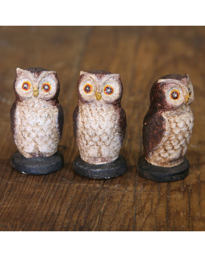 HomArt Hooty the Owl - Cast Iron Natural