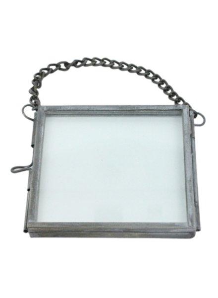 HomArt Pierre Ornament Frame - 3x3 Zinc