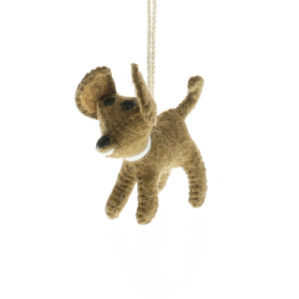 HomArt Felt Dog Ornament - Chihuahua