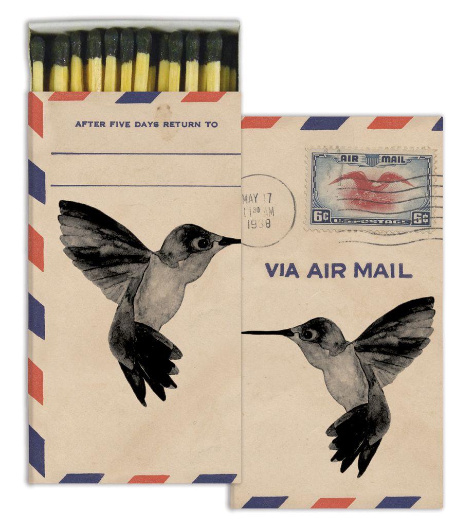 HomArt Air Mail HomArt Matches - Set of 3 Boxes
