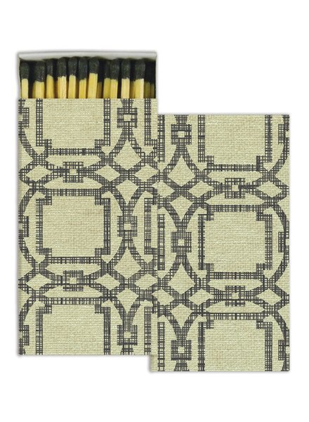 HomArt Textile Print HomArt Matches - Set of 3 Boxes