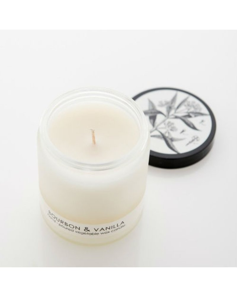 Cordelia J & Co. Bourbon Vanilla Frosted Candle