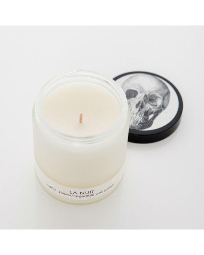 Cordelia J & Co. La Nuit Frosted Candle