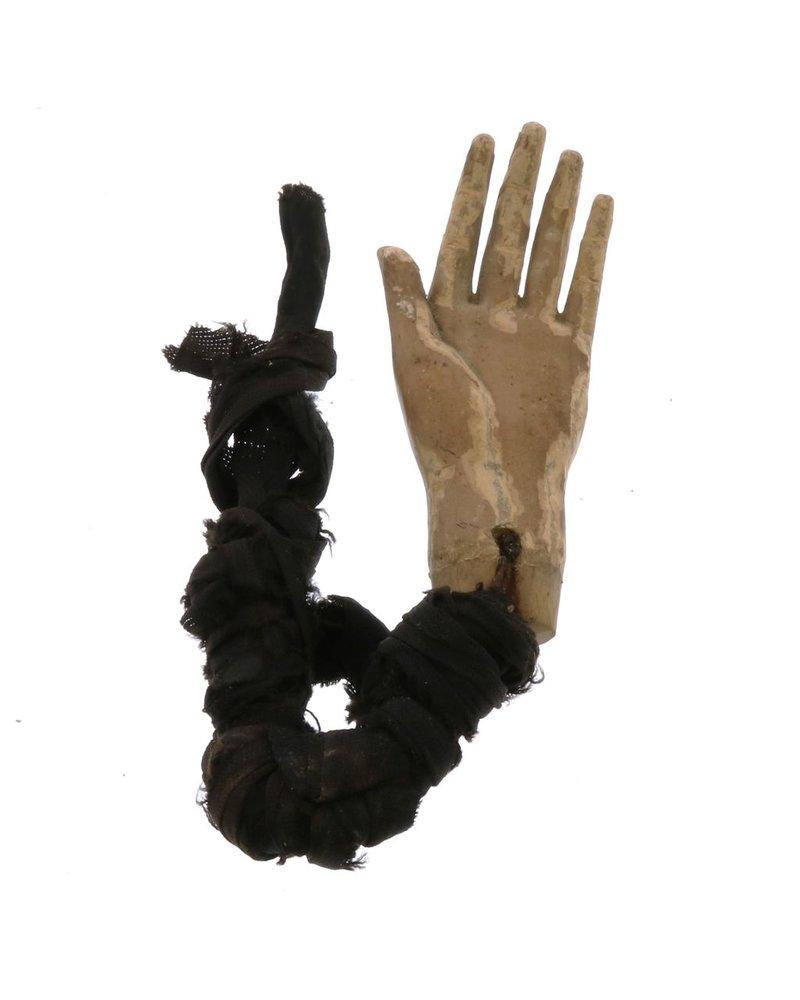 Vintage Saint Hand w/ Rope
