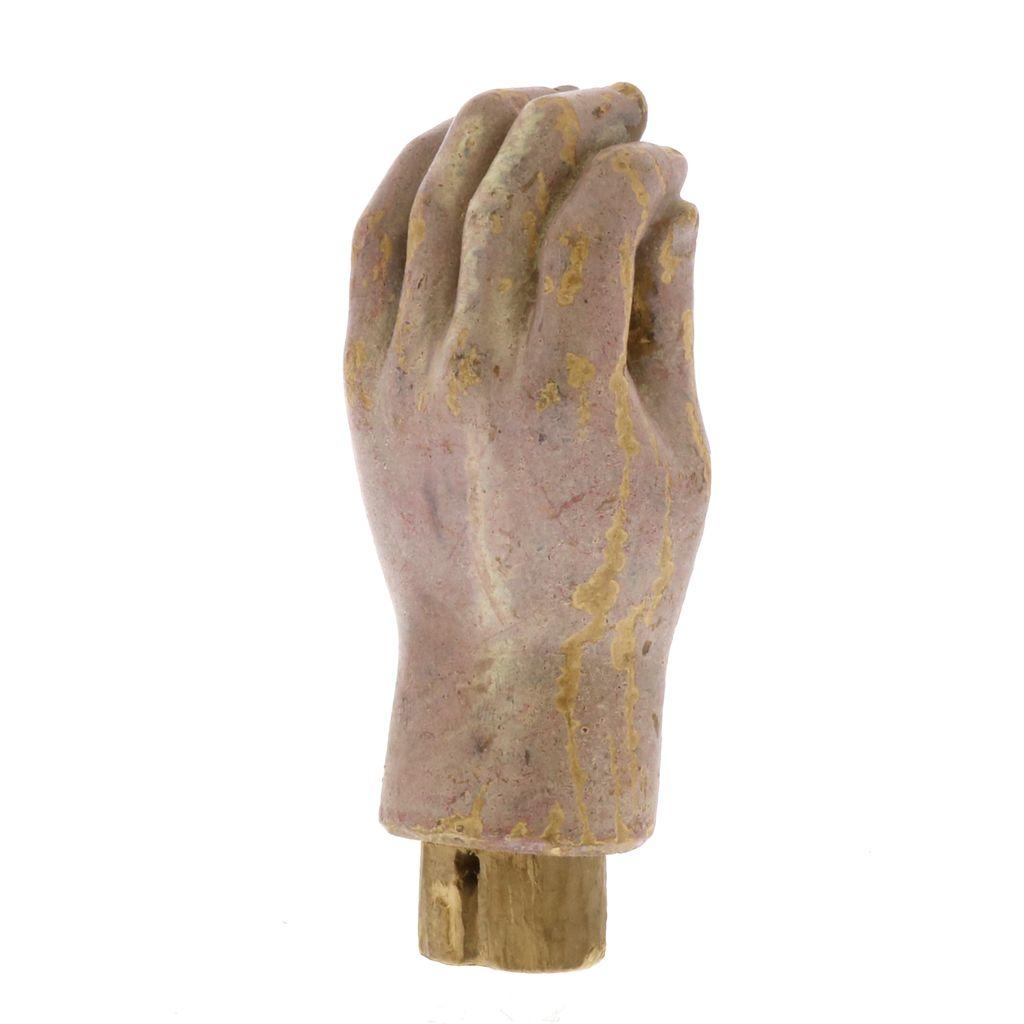 Vintage Wooden Saint Hand