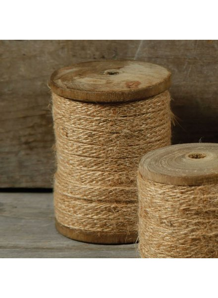HomArt Spool of Jute Ribbon - Lrg 33 Feet