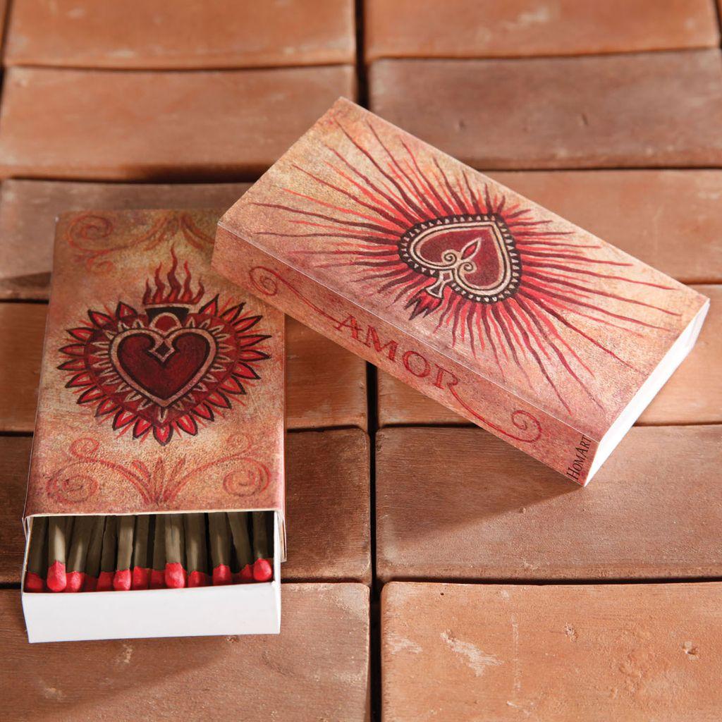 HomArt Amo-Love HomArt Matches - Set of 3 Boxes