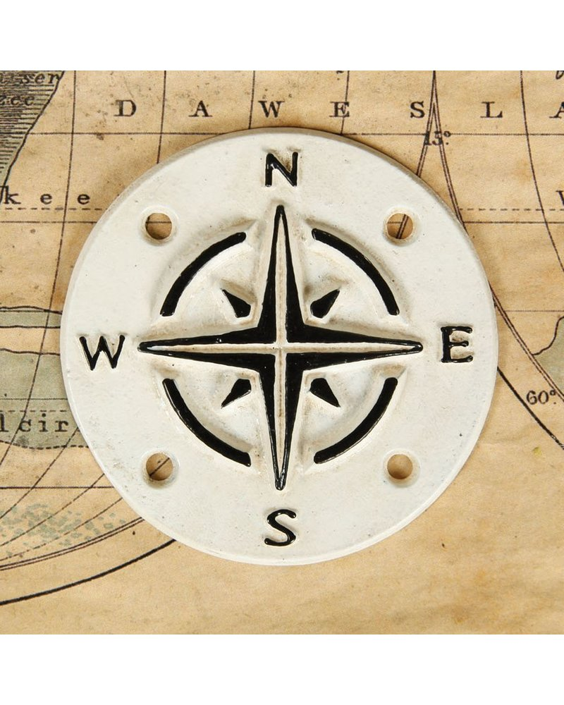 HomArt Cast Iron Sign - Compass