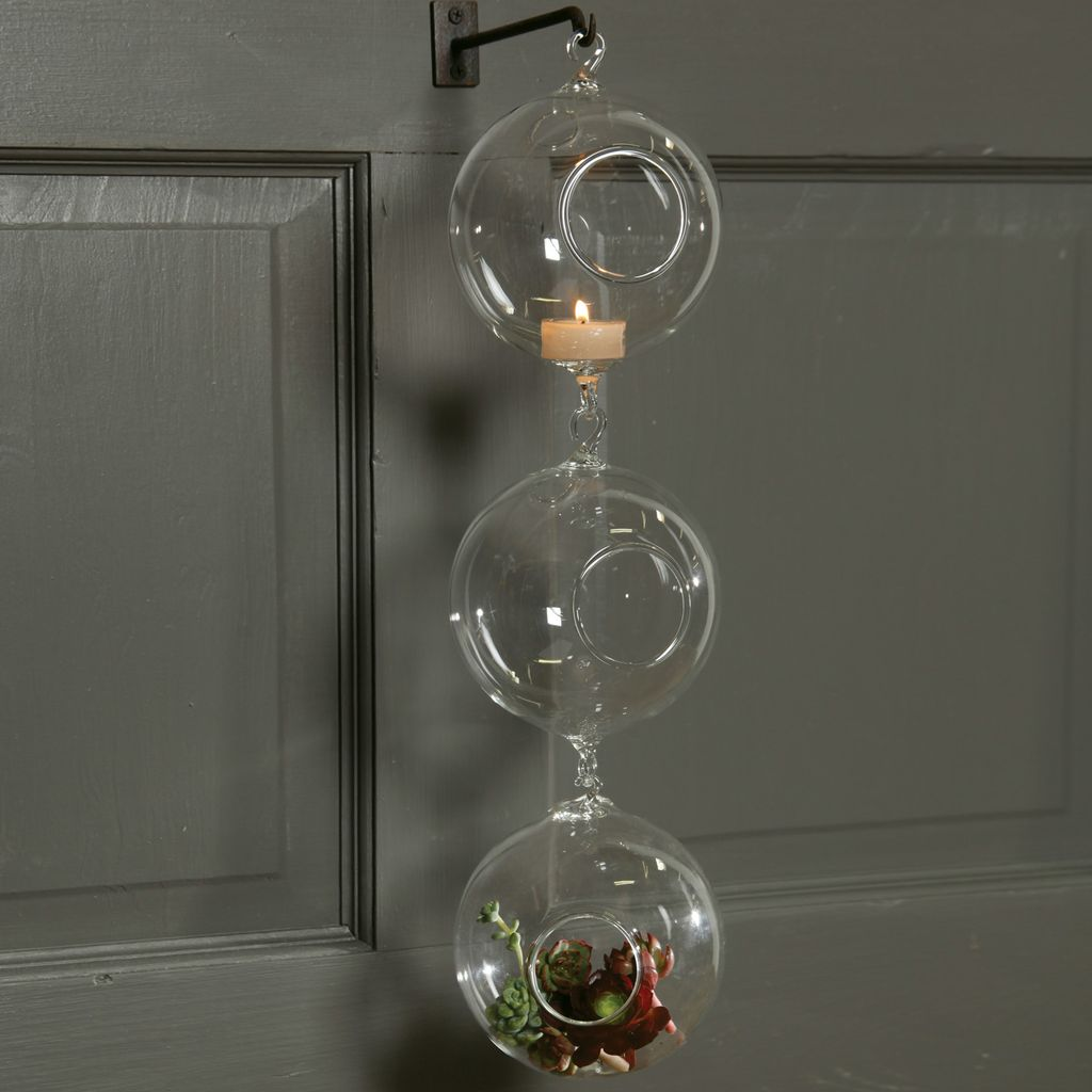 HomArt Double Hook Hanging Bubble - 5 in Clear