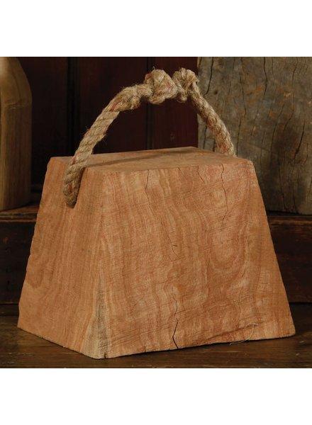 HomArt Skagway Wood Weight - Rect