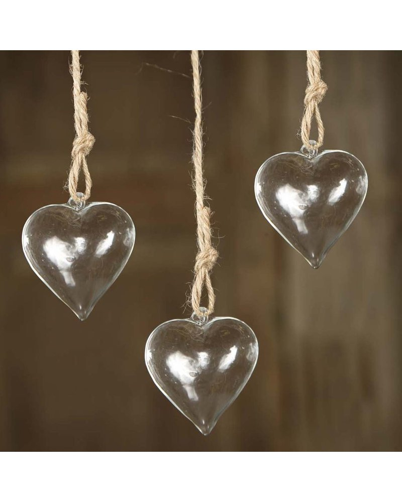 HomArt Petitie Hanging Glass Heart