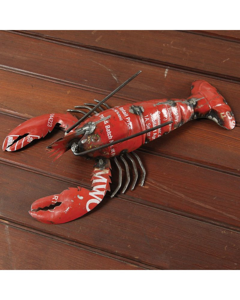HomArt Reclaimed Metal Lobster Red