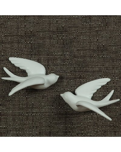 HomArt Ceramic Swallow - Lrg White