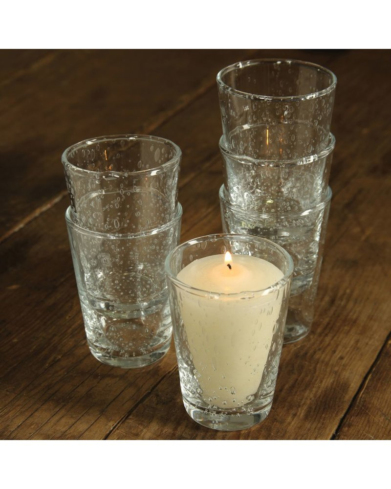 HomArt Country Votive Cup Clear