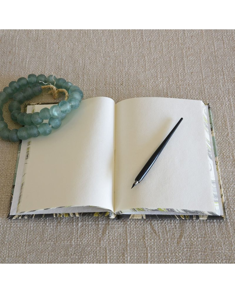 HomArt Marbleized Paper Journal-Aqua