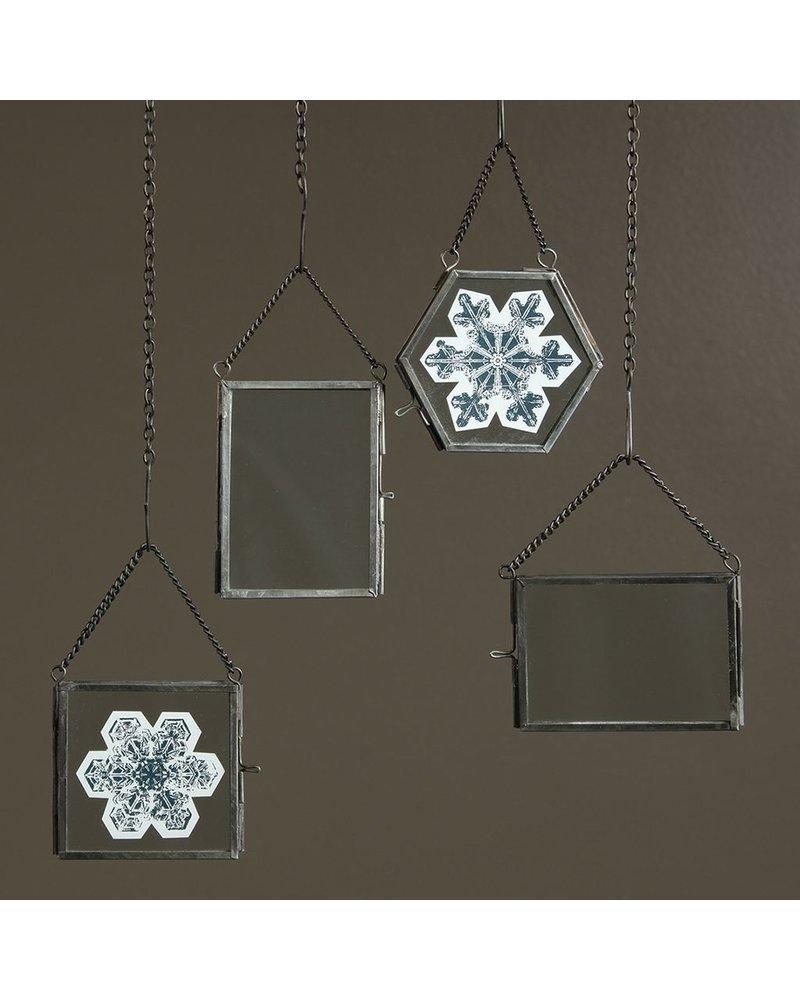 HomArt Pierre Ornament Frame - 2.5x3.5 Vertical Zinc