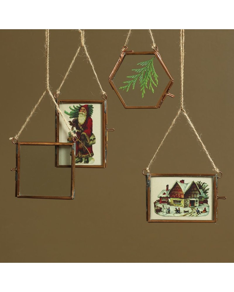HomArt Cornell Ornament Frame - 3.5x2.5 Horizontal - Copper