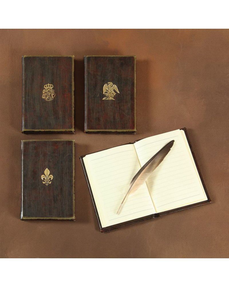 HomArt Royal Embossed Journal - Monogram - Brown