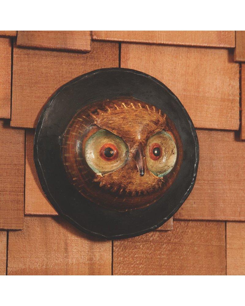 HomArt Metal Owl - Wall Mount