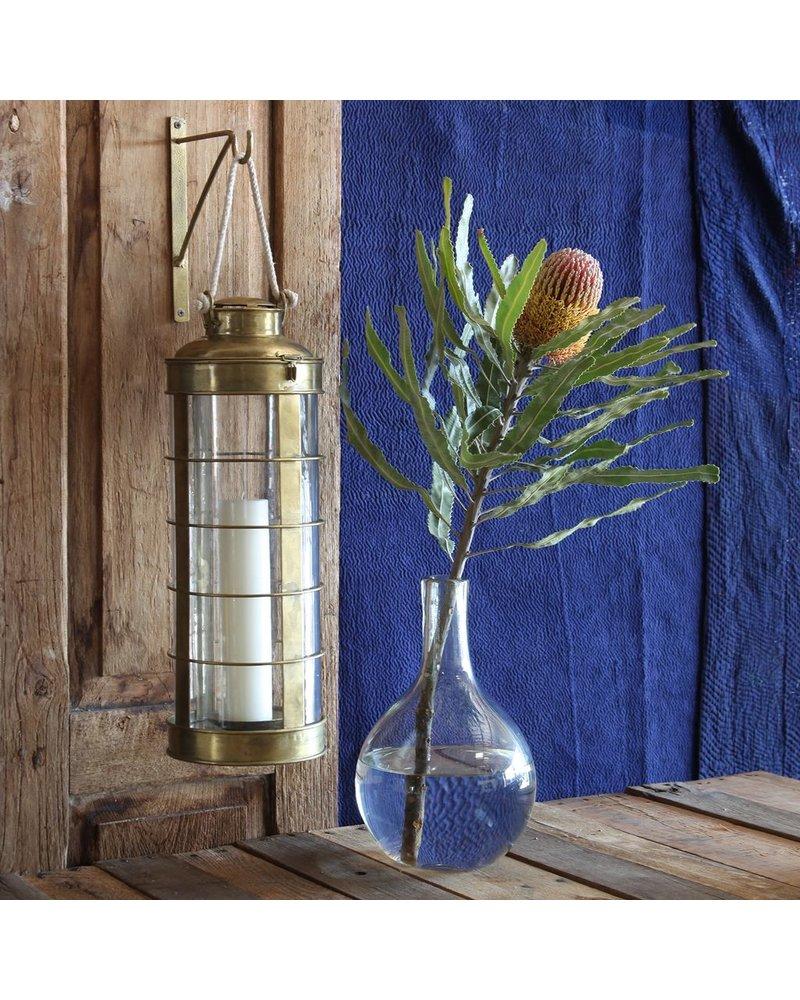 HomArt Caravan Brass Lantern - Lrg