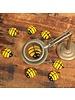 HomArt Glass Bumble Bee Bakers Dozen