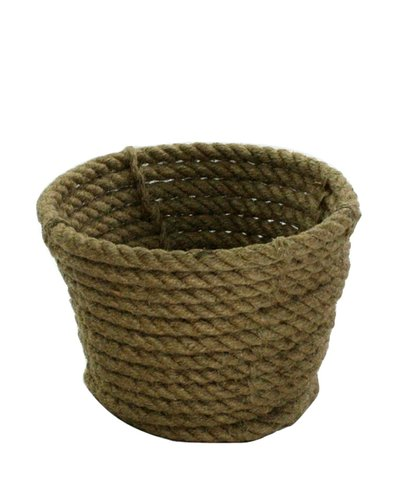 HomArt Coiled Rope Cachepot - Set of 3