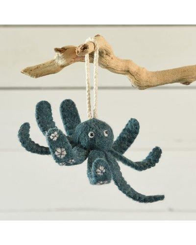 HomArt Felt Octopus Ornament