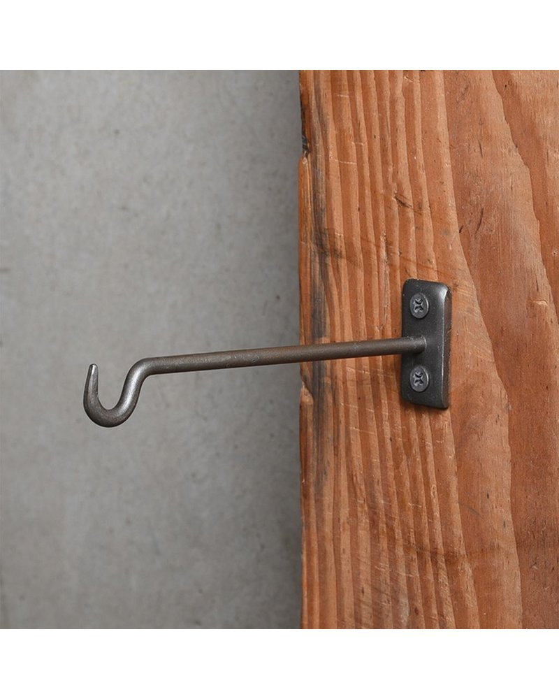HomArt Bijou Wall Hook 6 in - Steel Natural