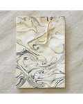 HomArt Marbleized Paper Gift Bag - Lrg-Grey