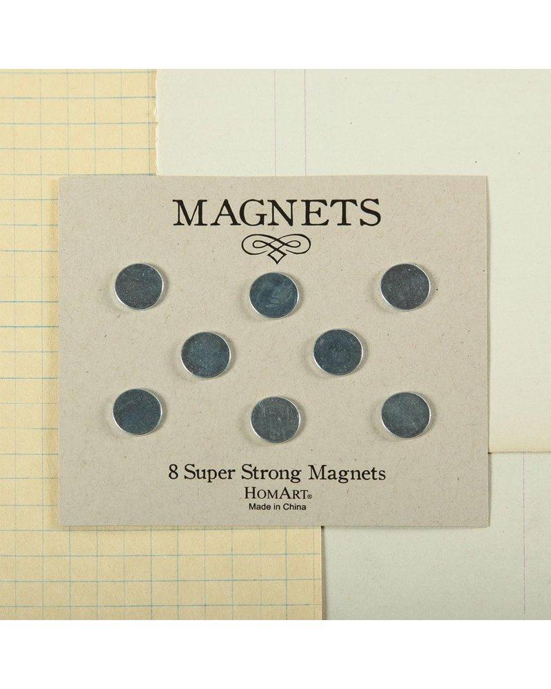 HomArt Super Strong Magnets - Pack of 8