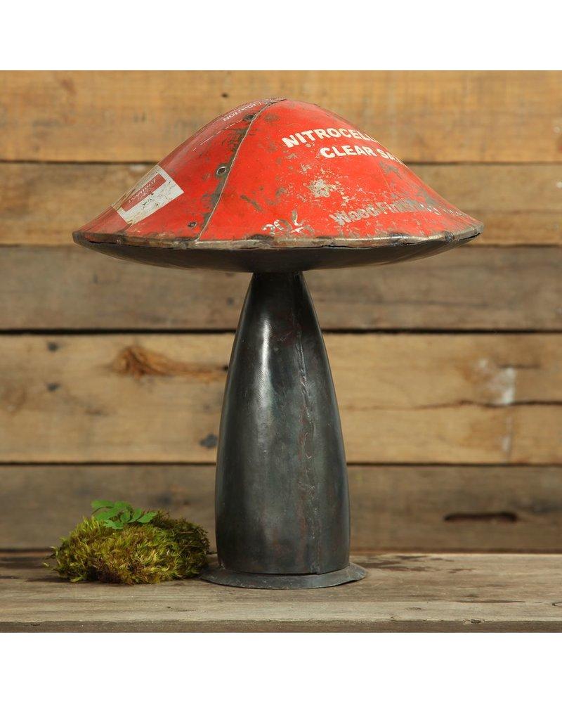 HomArt Reclaimed Metal Mushroom - Lrg