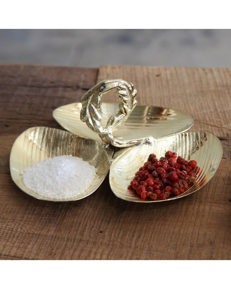 HomArt Shell Trio Cast Metal Dish