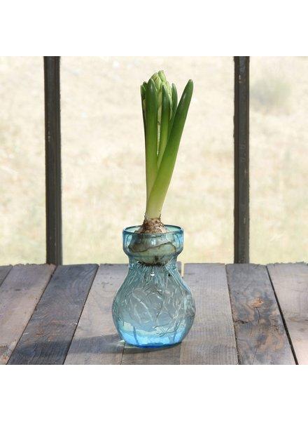 HomArt Bulb Vase Recycled Turquoise