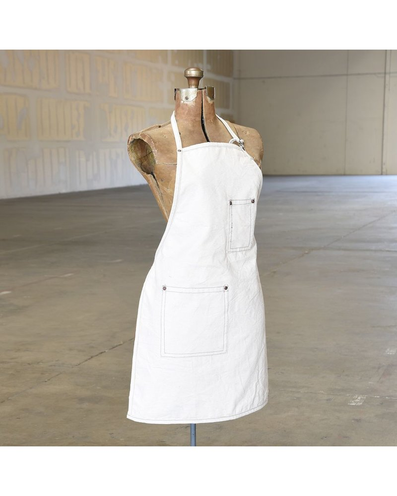 HomArt Workshop Canvas Apron - Baker-Ivory