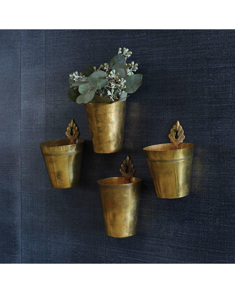 Hanging Brass Lassi Cup - Flea Market Find