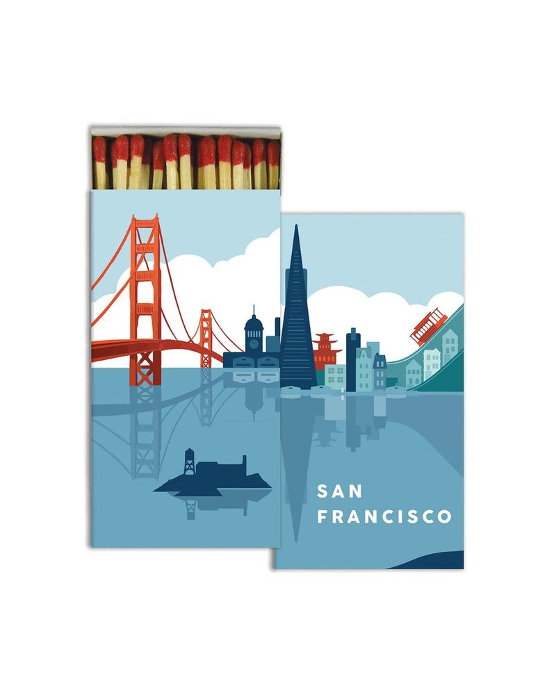 HomArt San Francisco HomArt Matches - Set of 3 Boxes