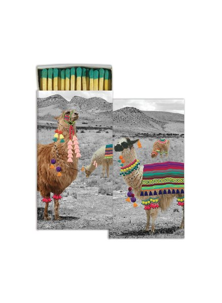 HomArt Llama HomArt Matches - Set of 3 Boxes