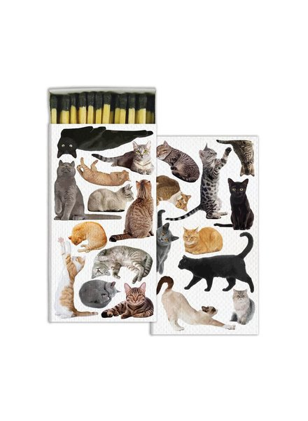 HomArt Cat Pack HomArt Matches - Set of 3 Boxes