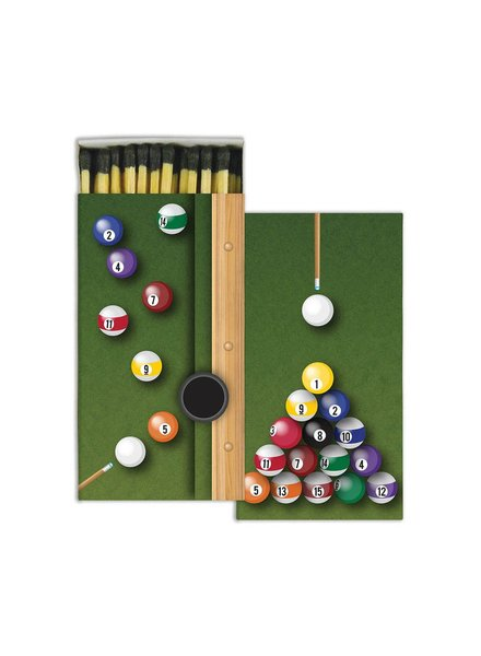 HomArt Billiards HomArt Matches - Set of 3 Boxes