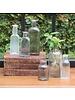 HomArt Vintage Glass Bottle Rect - Lrg - Antique Lilac