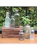 HomArt Vintage Glass Bottle Rect - Med - Antique Clear