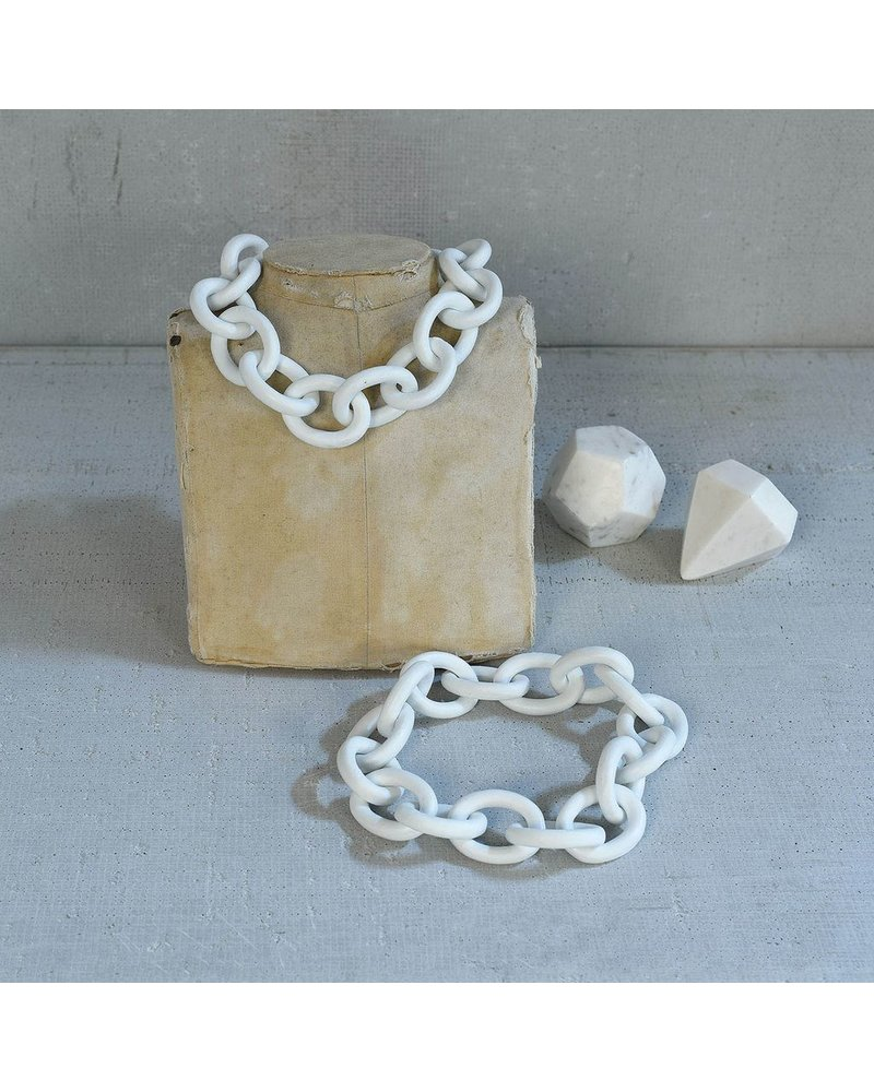 HomArt Ceramic Chain - Matte White