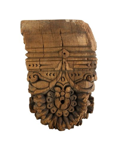 HomArt Bombay Corbel Wall Sconce - Reclaimed Wood - Natural